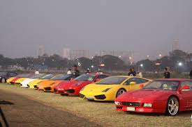 Parx Supercar Show In Mumbai Photos
