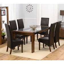 dining tables stunning glass and wood dining table and chairs square glass dining table rectangular