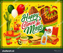 Happy Cinco De Mayo Vector Greeting ...