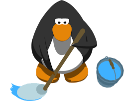 animated moving penguins.  Penguins Club Penguin Mopgif To Animated Moving Penguins