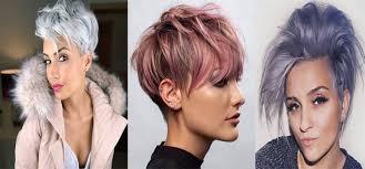 účesy 2018 Krátke Vlasy