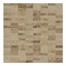 lynx mixed brown 11 42 in x 11 57 in x 5 mm stone self adhesive wall mosaic tile 11 04 sq ft case