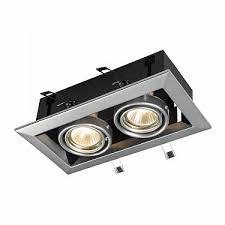 Карданный <b>светильник Maytoni</b> Technical Metal <b>DL008</b>-<b>2</b>-<b>02</b>-<b>S</b> по ...