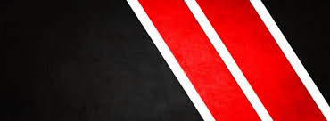 abstract black red white stripes facebook cover