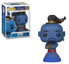 Aladdin 2019 Funko Pop Disney Genie Vinyl Figure Live Action Damaged Package