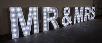 rent giant marquee letters for your wedding c=2