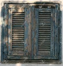 Antique Windows Image Of Antique Wooden Windows As Background Stock Photo Picture