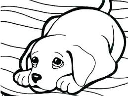 Puppy Coloring Pages Free Printable Full Size Of Puppy Coloring
