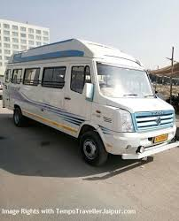 book tempo traveller in jaipur from
