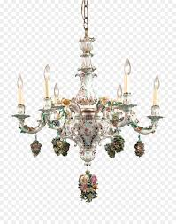 Chandelier Meissen Porcelain Light Light Png Download