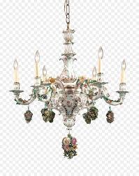 chandelier meissen porcelain light light