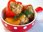 Необычный рецепт фаршированных перцев