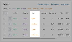 Pop A Plug Size Chart Add A Size Chart To Product Pages Shopify Help Center