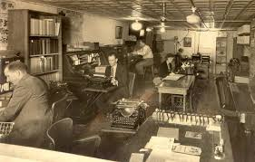 bank and office interiors. OM Office C. 1930.JPG (59053 Bytes) Bank And Interiors