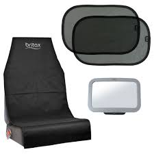 britax baby car seat mirror window shades car seat cover accessory pack