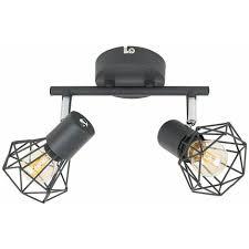 grey 2 way spotlight ceiling light