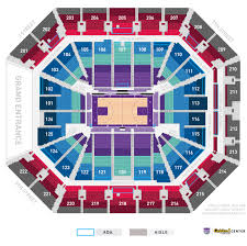Aac Seating Chart With Seat Numbers Seating Chart Sacramento Kings