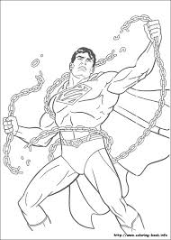Superman Coloring Pages On
