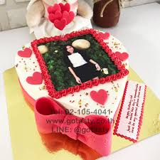 Surprise Birthday With Heart Shape Cake Gotasty