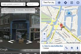 google maps street view now live in ios web app  the verge