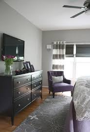 luxury bedroom furniture purple elements. Colors For Sanctuary Light Gray Walls Black \u0026 Purple Elements Luxury Bedroom Furniture
