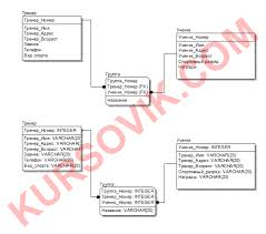 Проектирование базы данных для спортивной школы Курсовая работа  Курсовая работа Проектирование базы данных для спортивной школы в среде программирования sql Программа и описание