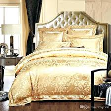 gold king size comforter gold bedding sets queen golden jacquard tribute silk comforter covers queen king gold king size comforter