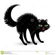 scared black cat clipart. Interesting Clipart Scary Black Cat And Scared Black Cat Clipart Y