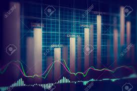 Financial Stock Market Data Graph Of Stock Market Stock Market