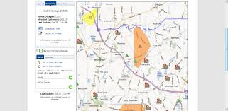 franklin matters nationalgrid power outage map   pm