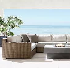 restoration hardware sleeper sofa awesome biscayne luxe customizable sectional