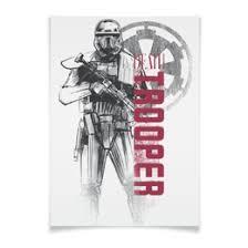"""Плакаты c эксклюзивными принтами """"Звёздные войны"""" - <b>Printio</b>"""