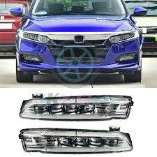 2018 Accord Fog Light Kit Details About For Honda Accord 2018 2019 Led Fog Lamps Bumper Driving Lights Assembly 2pcs