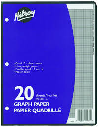 Buy Hilroy Graph Paper 10 1 20 Sheets From Value Valet