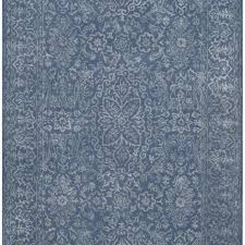 best overall wilkins hand tufted gray blue area rug
