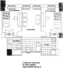 floor plan with furniture. two bedroom apartment floor plan with furniture r