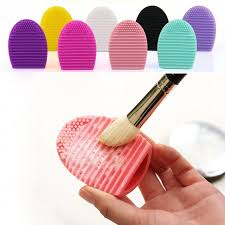brushegg cleaning glove makeup washing brush scrubber board cosmetic brushegg cosmetic brush egg jjd2033 sponge facts sponge painting ideas from youmvp