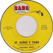 45cat - Susanna Smith - Sarah Jane / St. Marks & Third - Bang - USA - B-569