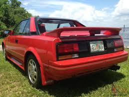 survivor 1988 Toyota MR2 Supercharged original 30k miles museum ...