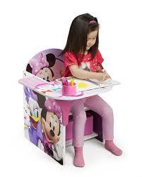 com delta children chair desk with storage bin disney minnie mouse baby