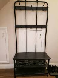 ikea pinnig coat rack shoe storage bench