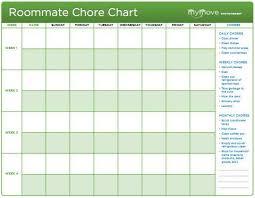 4 Person Chore Chart Danny Allen Dannyallen082 On Pinterest