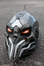 motorcycle helmets inspired by video games and movies