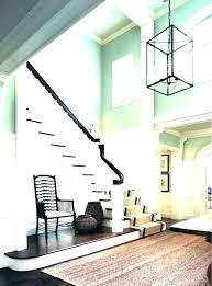 two story foyer lighting surprising two story foyer chandelier size for height 2 entryway modern lighting two story foyer