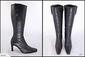 pulp nz secret service black genuine leather boots 080 8 trade me