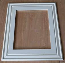 build a diy custom picture frame using moulding from the hardware so much er