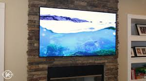 mounting a tv above a fireplace with