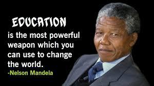 Nelson Mandela Education Quote Beauteous Nelson Mandela Quotes On Education Youth Leadership Love