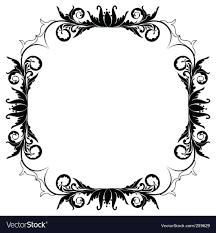 fl frame border vector image