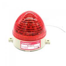 btoomet industrial dc 12v red led warning light bulb signal tower lamp n 3072 steady flash